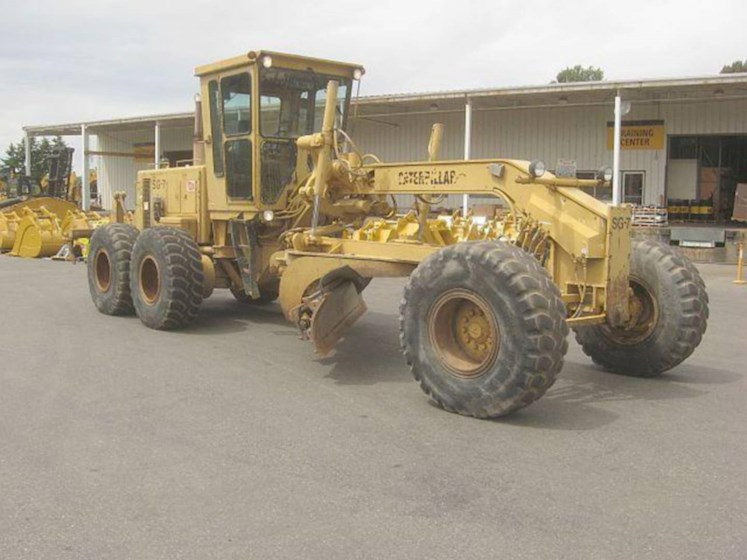 1990 Caterpillar 14G - Caterpillar Graders & Scrapers