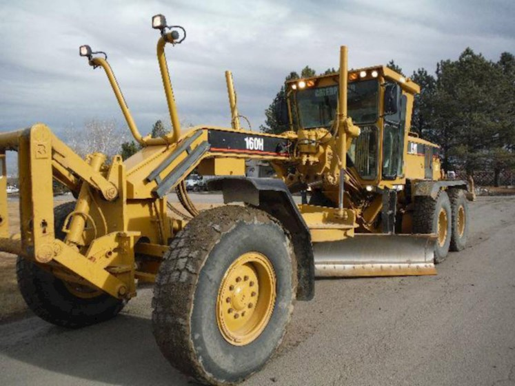 2006 Caterpillar 160HNA - Caterpillar Graders & Scrapers