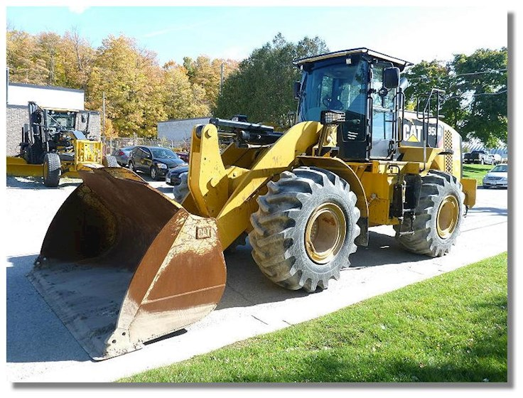 2013 Caterpillar 950K Waste Handler - Caterpillar Loaders
