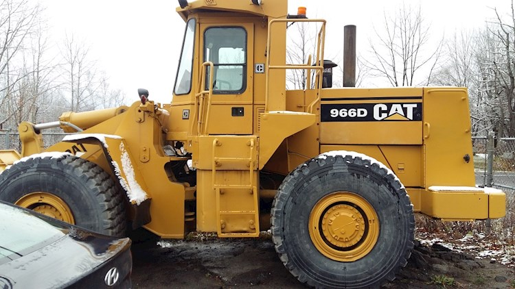 1987 Caterpillar 966D - Caterpillar Loaders