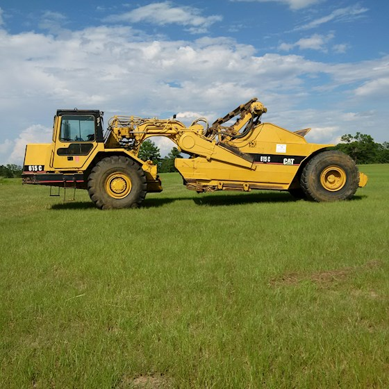 1996 Caterpillar 615C II - Caterpillar Graders & Scrapers