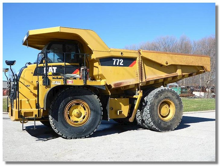 2013 Caterpillar 772 - Caterpillar Rock Truck
