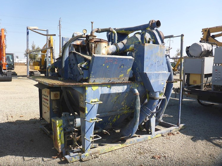 "1994 Caviem 28"" x 68"" Single Deck Skid Mounted Shaker (2636) - Caviem Aggregate Equipment"