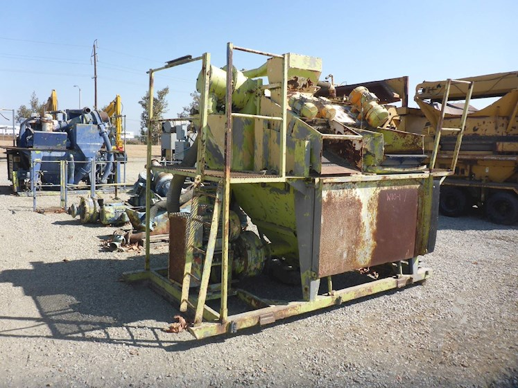 "1993 Caviem 28"" x 68"" Skid Mounted Shaker (2635) - Caviem Aggregate Equipment"