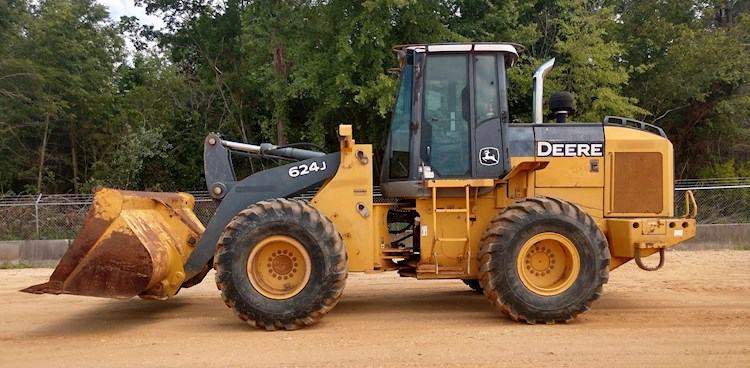 2005 DEERE 624J - DEERE Loaders