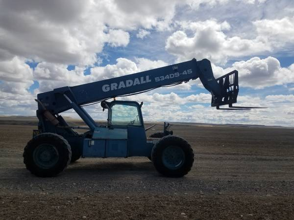 2000 Gradall 534D9-45 - Gradall Other Lifts & Handlers