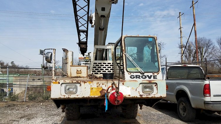 1989 Grove AT422 - Grove Cranes