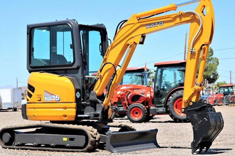 2020 IHI KATO HD35V-4 Mini Excavator with CAB - IHI Excavators