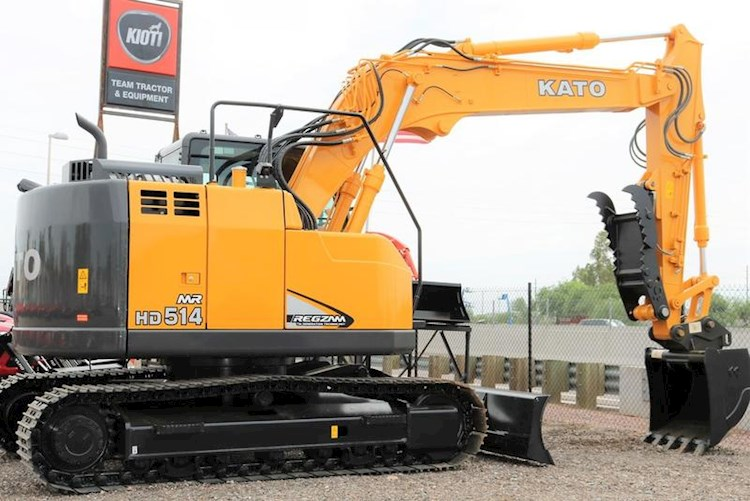 2020 IHI KATO HD514MR-7 Excavator with Blade - IHI Excavators
