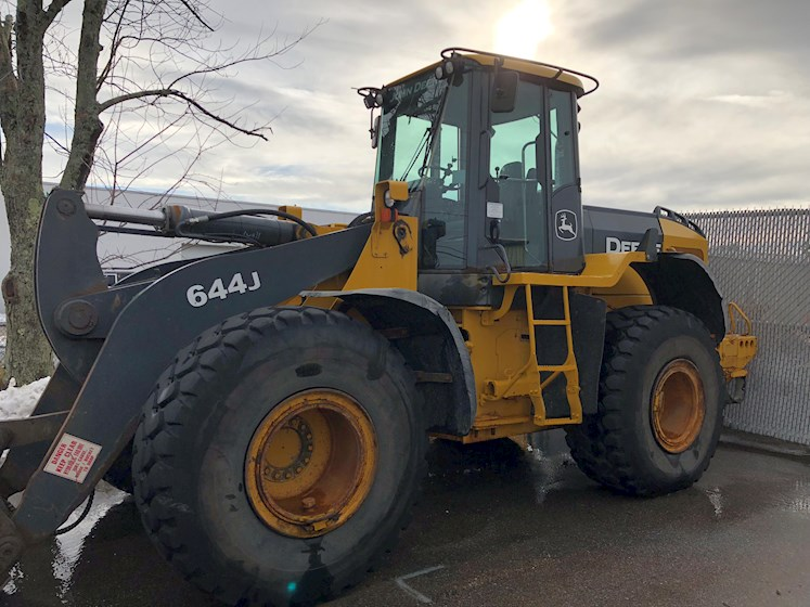2007 John Deere 644J Wheel loader - Forks & Bucket - John Deere Loaders