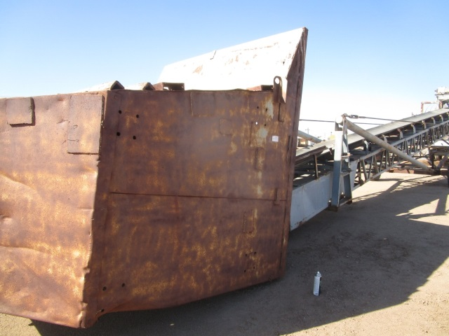 Kolberg 60 ft. Trap Feeder Radial Stacker Conveyor (2682) - Kolberg Aggregate Equipment
