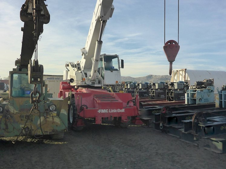 1980 Link-Belt HSP8018 18Ton 2729 - Link-Belt Cranes
