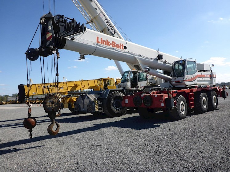 2003 Link-Belt RTC80100 100 Ton 150 Ft. 5 Section Boom (2537) - Link-Belt Cranes