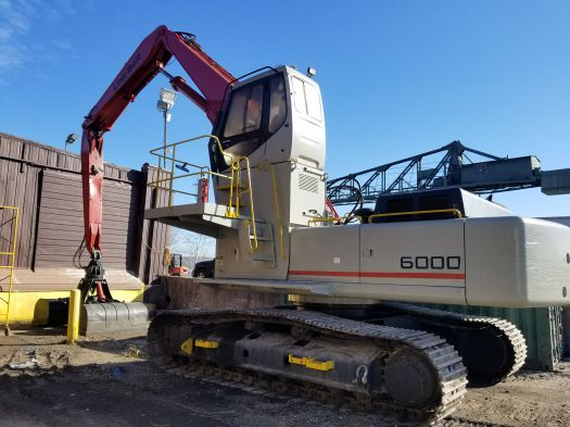 1996 Link-Belt 6000 Quantum Scrapmaster - Link-Belt Other Lifts & Handlers