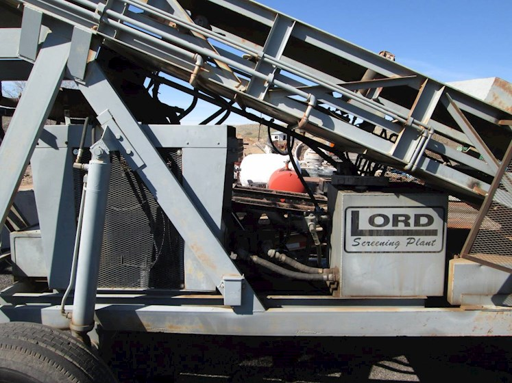 Lord Shaker Screen - Lord Aggregate Equipment