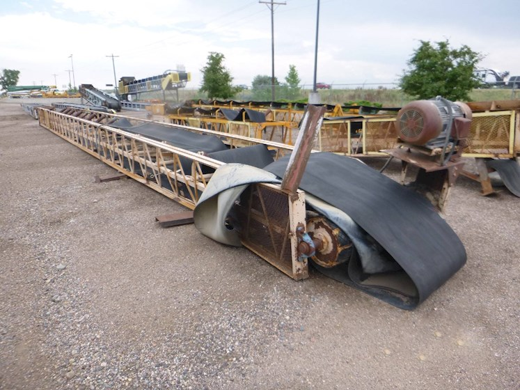 Marco 36x80 Lattice Frame Conveyor (2435) - Marco Aggregate Equipment