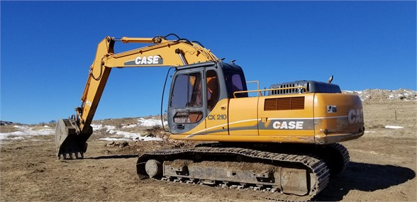 CASE CX210 - CASE Excavators