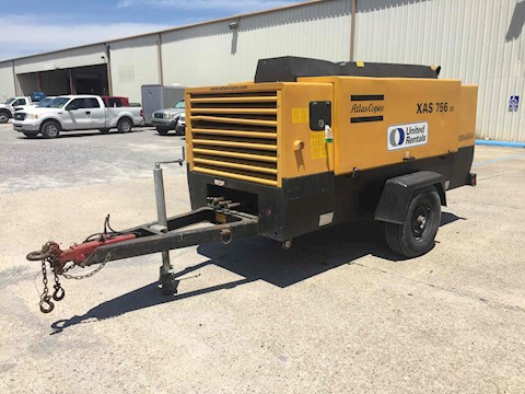 Atlac Copco XAS750JD-IT4 - Atlac Copco Air Compressors