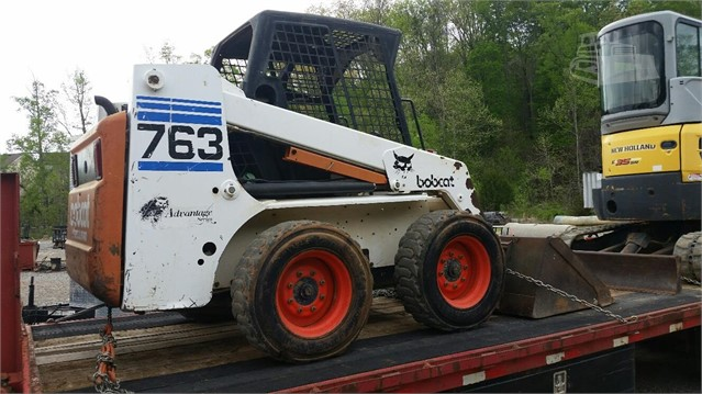 Bobcat 763 - Bobcat Loaders
