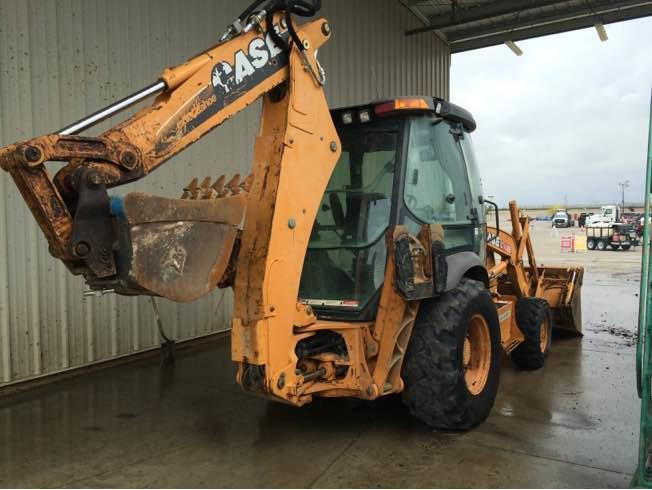 CASE 580SN - CASE Loader Backhoes