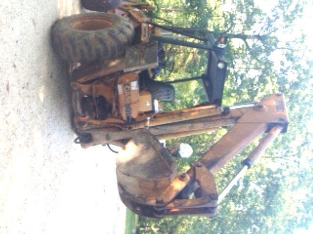 1983 CASE 580D - CASE Loader Backhoes