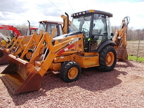 2005 CASE 580M - CASE Loader Backhoes
