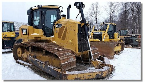 Caterpillar Bulldozers at Machinery Marketplace