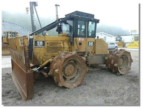 Caterpillar 518 Series II - Caterpillar Compactors