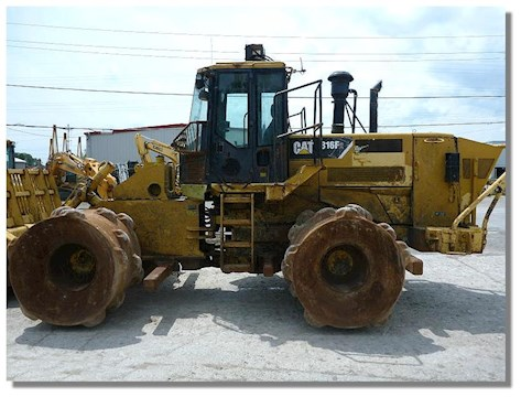 Caterpillar 816F Series II - Caterpillar Compactors