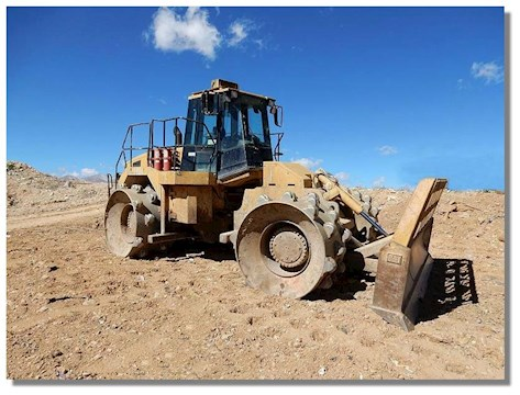 Caterpillar Compactors at Machinery Marketplace