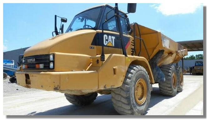 2012 Caterpillar 730 - Caterpillar Dump Trucks
