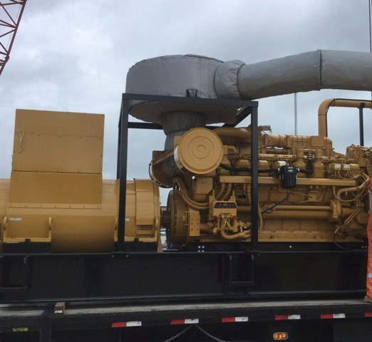 Caterpillar 3516C-HD Diesel Generator set for Oil Field (2) sets - Caterpillar Generators