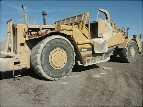 2001 Caterpillar 637E - Caterpillar Graders & Scrapers