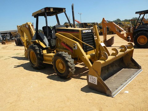 Caterpillar 416B - Caterpillar Loader Backhoes