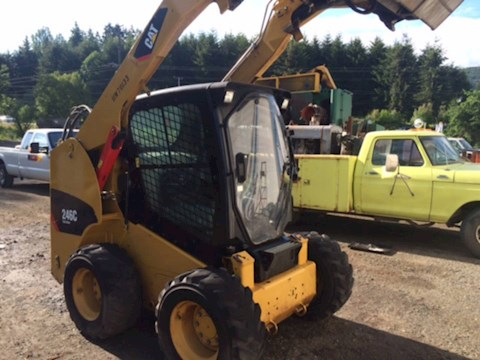 2012 Caterpillar 246C - Caterpillar Loaders