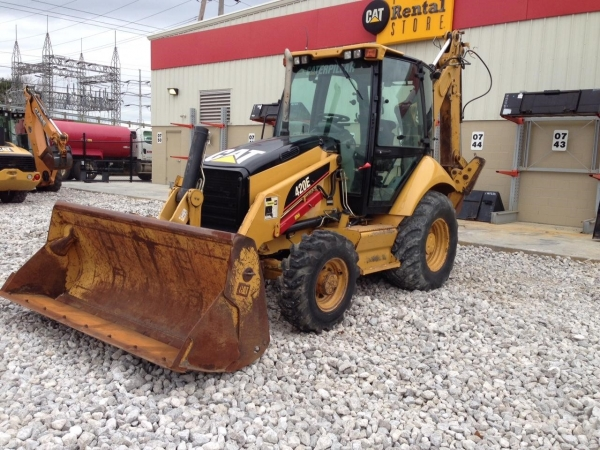Caterpillar 420E ST - Caterpillar Loaders