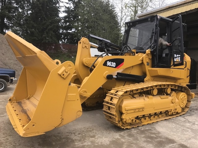 2009 Caterpillar 963D - Caterpillar Loaders