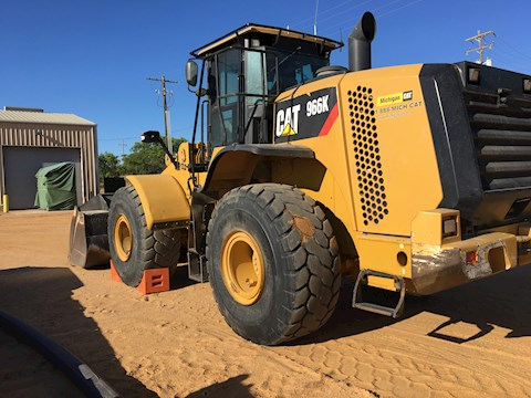 2012 Caterpillar 966K - Wheel Loader - Caterpillar Loaders