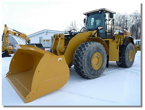 2012 Caterpillar 980K - Caterpillar Loaders