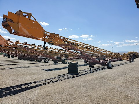 Custom Built 100 Ft Radial Stacking Conveyor (2574) - Custom Built Aggregate Equipment