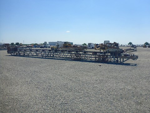 Custom Built 24x60 Lattice Frame Conveyor (2392) - Custom Built Aggregate Equipment