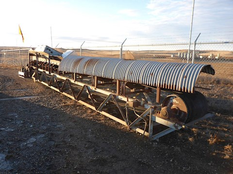 Custom Built 30ft Lattice Frame Conveyor 2697 - Custom Built Aggregate Equipment