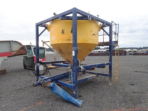 Custom Built Digital Cement Scale Silo w/ Auger (2509) - Custom Built Aggregate Equipment