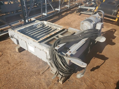 Custom Built Volumetric Vane Feeder 2783 - Custom Built Aggregate Equipment