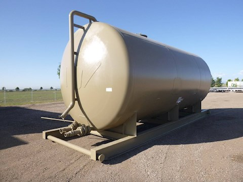 Custom Built Skid Mounted Water Tank 12K (2660) - Custom Built Trailers