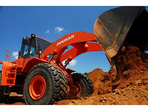 2008 Doosan DL400 - Doosan Loaders