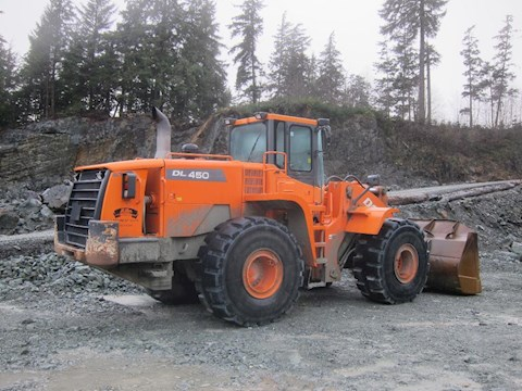 Doosan DL450 - Doosan Loaders