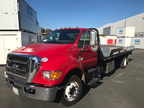 Ford F650 XLT Super Duty ProLoader - Ford Cab Chassis Trucks