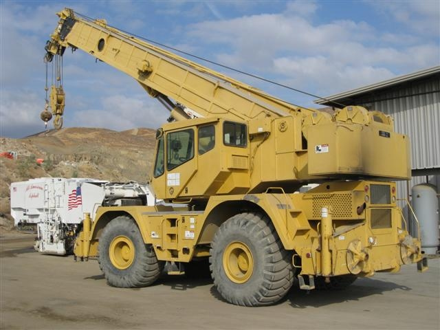 1996 Grove RT855B 60 Ton Rough Terrain Crane (2543) - Grove Cranes