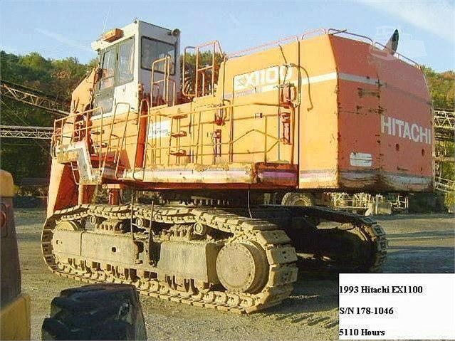 1993 Hitachi EX1100 - Hitachi Excavators